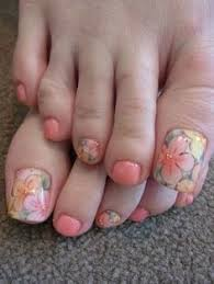 toenail designs for pedicure toe nail art designs with flowers