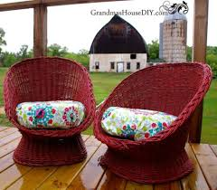 Spray Paint Wicker Patio Furniture - make wicker trendy again with these brilliant ideas hometalk