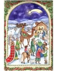 christmas manger 24 sellmer advent christmas manger calendar