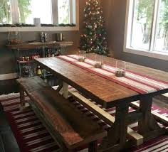 reclaimed wood extending dining table reclaimed wood table and bench nhmrc2017 com
