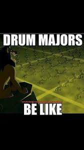 Drum Major Meme - 232 best marching band orchestra adventure time images on