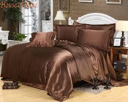 wholesale luxury pink chinese silk satin euro design bedding sets
