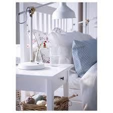 Ikea Hemnes Nightstand White Hemnes Bed Frame White Stain Luröy Standard King Ikea