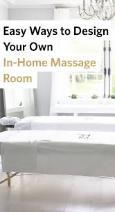 82 best esthetics estheticians images on pinterest estheticians here are some diy interior design tips to create your own in home massage room
