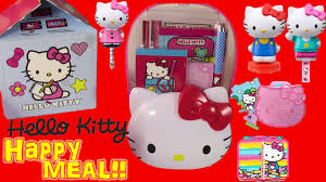 hello kitty 2015 mcdonald u0027s happy meal toys complete set