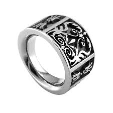 top titanium rings images Titanium rings 16mm gray titanium flat heritage ring mm wide jpg