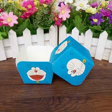 aliexpress com buy cute blue cat square cake paper cups muffin