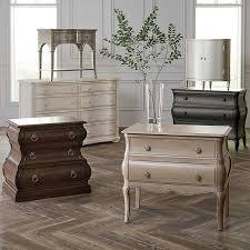 classics by bassett 3 drawer nightstand