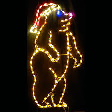 lighted outdoor decorations lighted animal decorations