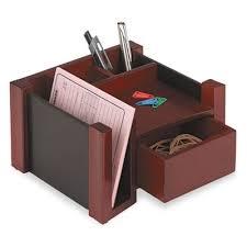 Mahogany Desk Accessories Desk Director Wood 7 1 8 X 6 3 4 X 4 1 8 Black