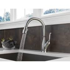 Grohe Faucet Kitchen by Delta Faucet 9178t Dst Leland Polished Chrome Pullout Spray