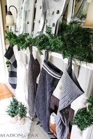 thrift store sweater stockings