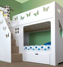 high sleeper bed with stairs maxtrix mid loft bed wstaircase on
