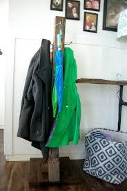 diy wood coat rack