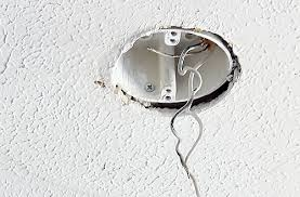 Replacing A Ceiling Light Fixture Replace Ceiling Light Out With The And In With The New