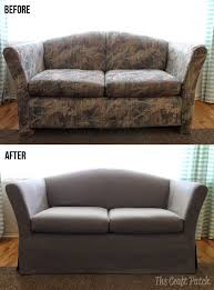 How To Sofa Best 25 Couch Makeover Ideas On Pinterest Painted Couch