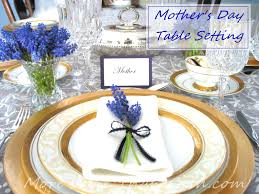 table setting mothers day table setting