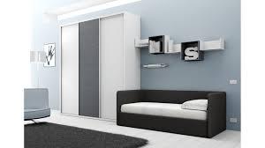 canapé chambre chambre avec lit canapé et armoire compact so nuit