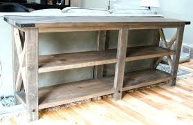 rustic x console table rustic x base console table the chronicles of home x base table cg