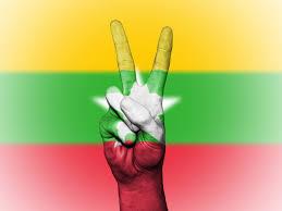 Flag Of Burma Free Images Glove Country Travel Finger Symbol Banner Flag