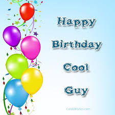 birthday wishes for guys cards wishes