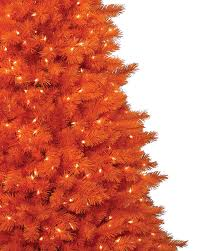 decorated halloween trees the 100 orange christmas tree or halloween trees treetopia