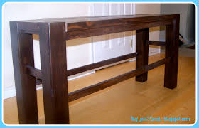 Diy Counter Height Table Counter Height Bench My Love 2 Create