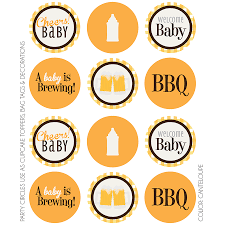 a baby is brewing baby is brewing party circles kateogroup