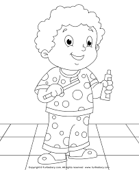 Tooth Brushing Fun Coloring Pages Brushing Teeth Coloring Pages