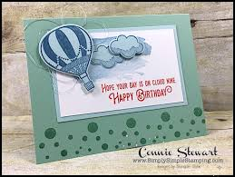 flash card cloud nine birthday card no 91 simply