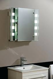 recessed medicine cabinet with lights recessed medicine cabinet with side lights musicalpassion club