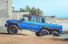 mercedes 6 x 6 mercedes sells out all of its g63 amg 6x6 beasties