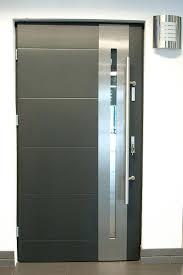 front doors paint metal front door to look like wood door ideas