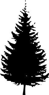 silhouette of christmas tree clipart best 2015 xmas