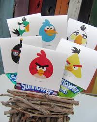 father u0027s gift angry birds printable popsicle blog