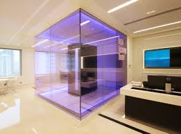 Glass Box House Architecture Determining The Great Architectural Lighting For The