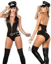 Cops Halloween Costumes Lady Costume Adults Halloween Costumes