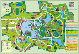 Zoo Map Shanghai Zoo Map Map Of Shanghai Zoo China