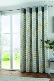 Teal And Yellow Curtains Teal Curtains Teal Blackout U0026 Eyelet Curtains Next Uk