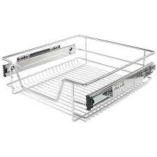 panier coulissant pour cuisine tiroir de cuisine rails inclus plusieurs modèles disponibles