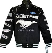 ford mustang jacket mustang 50th anniversary jacket us car and nascar fashion