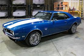 blue 68 camaro 1968 chevrolet camaro custom 2 door coupe 81127