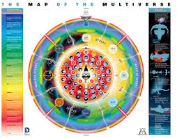map of dc universe usa the map of the multiverse dc