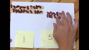 bean sticks subtraction with regrouping pt 1 youtube