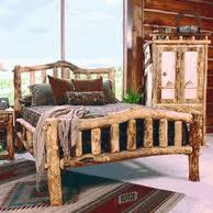 log beds log cabin rustics