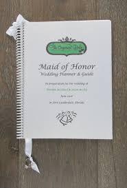 of honor wedding planner book wedding organizer and