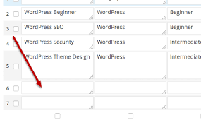 Wordpress Tables Easily Create Tables In Wordpress With Tablepress