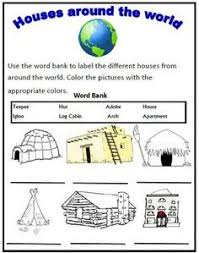 Types Of Houses Pictures This Powerpoint Is An Introduction To Homes Around The Word With A
