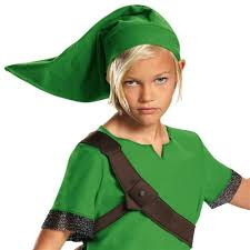 Zelda Halloween Costumes Link Costume Kids Legend Zelda Halloween Fancy Dress Ebay