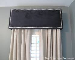 Upholstered Cornice Designs How To Diy A Pelmet Or Box Valance Master Bedroom Creativity